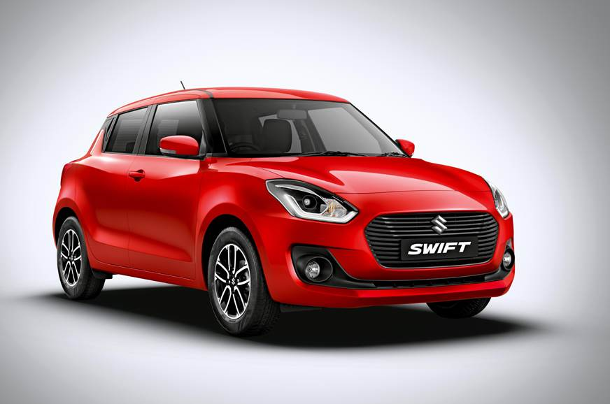 Maruti Suzuki Swift offers AMT gearboxes for the top trims