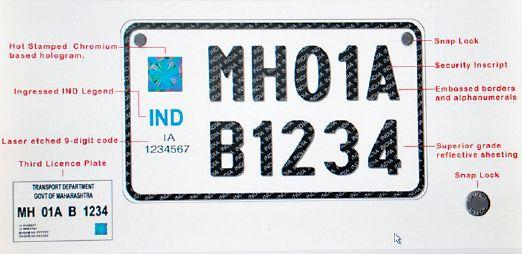 High Security Registration Plates mandatory from 2019