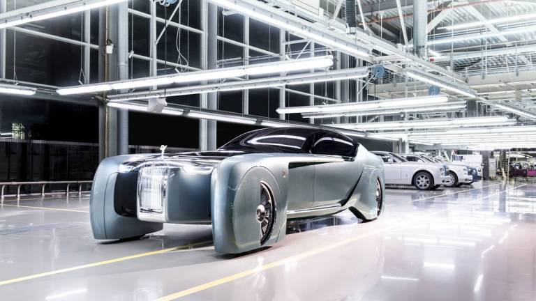 All Hail Rolls-Royce's Futuristic Luxury Car (Image Gallery)