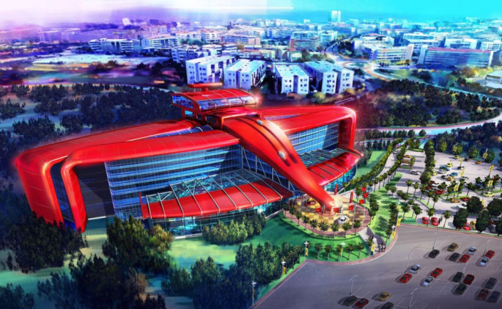 The upcoming Ferrari theme park in Spain