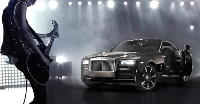 Rolls Royce Wraith Inspired by Music edition launched in India