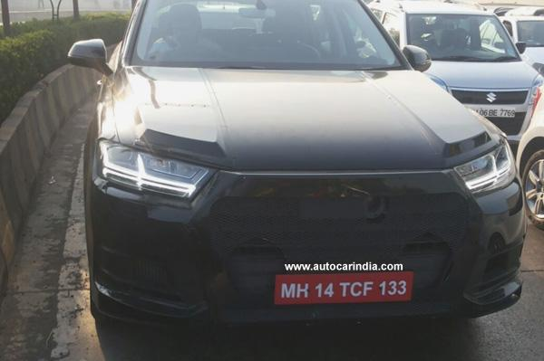 2016 Q7 spotted testing in Mumbai