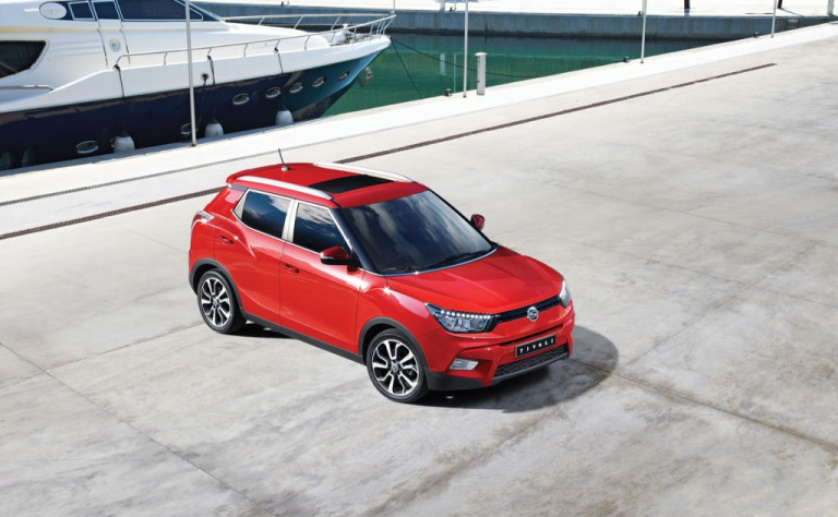SsangYong Tivoli will make global premiere @ Geneva