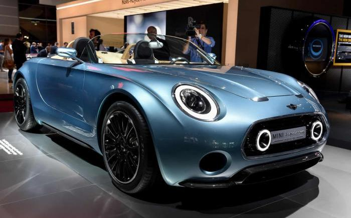 Superleggera concept in the works by MINI