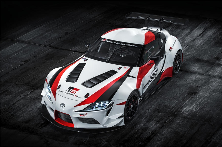 Toyota Gazoo Racing showcases the Concept Supra at the 2018 Geneva Motor Show