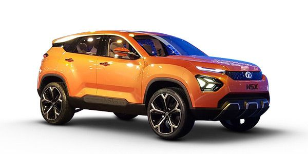 Tata H5X SUV - The Harrier