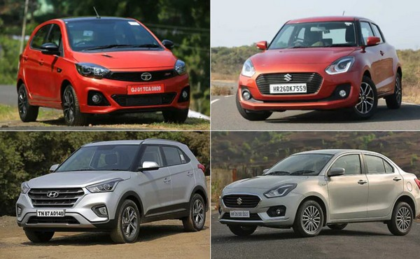Top 10 best selling cars in 2019