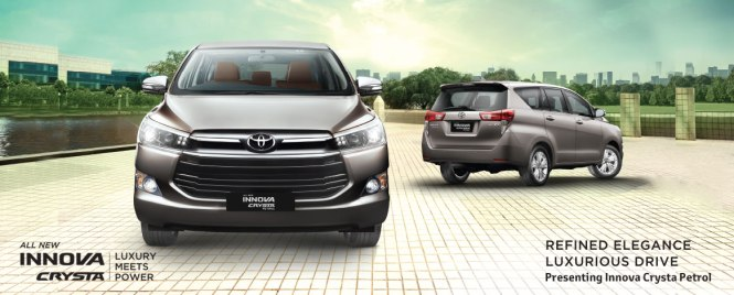 Toyota Innova Crysta Petrol Launched At Rs 13.73 Lac (Ex-Showroom, Delhi)