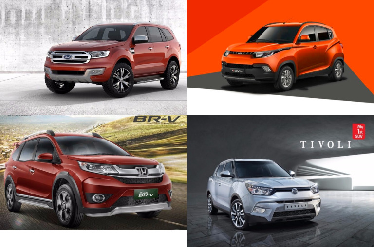 Top 5 Up-Coming SUVs in the First Quarter of 2016