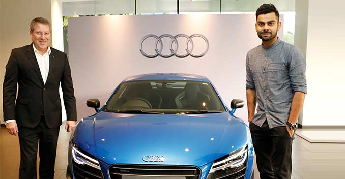 Celebrity garage : Virat Kohli