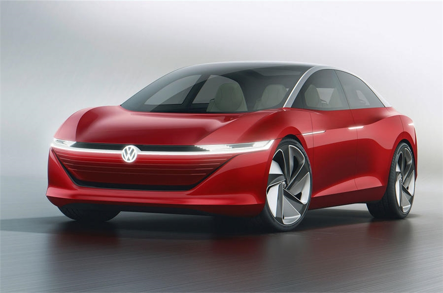 Volkswagen I D Vizzion Unveiled At the 2018 Geneva Motor Show